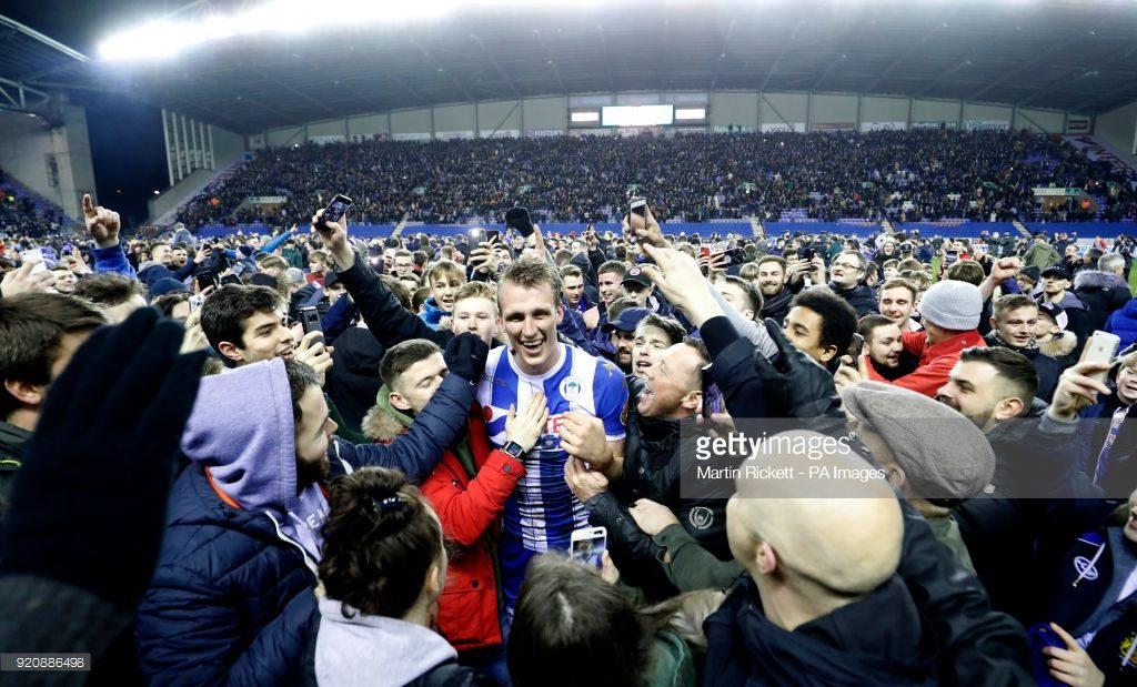 Wigan Athletic's Dan Burn