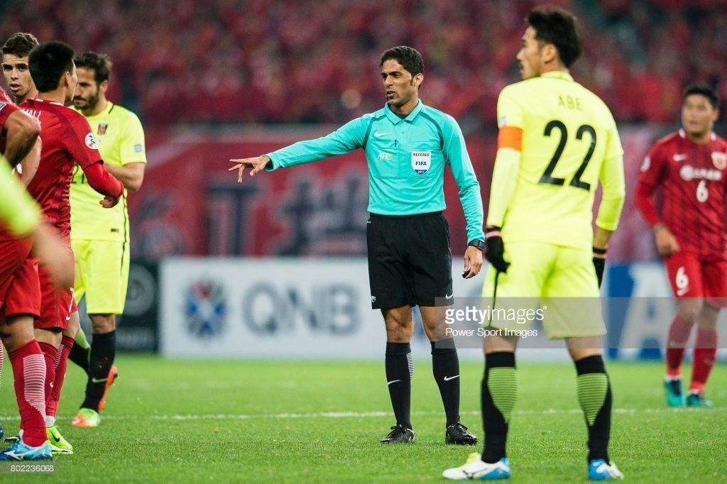 Fifa Referee Fahad Almirdasi of Saudi Arabia