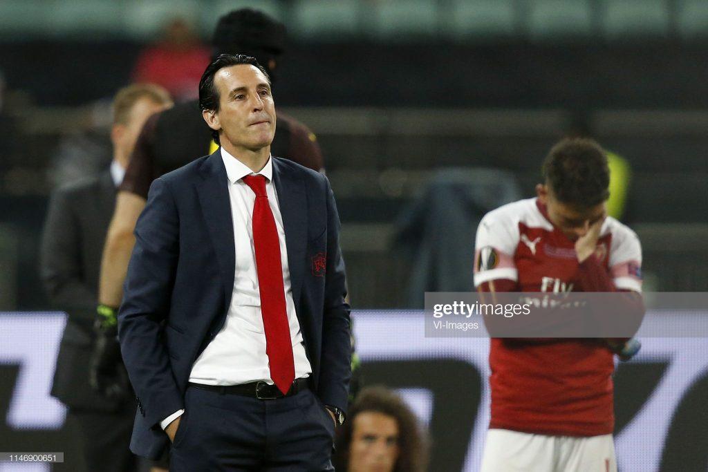 Arsenal FC coach Unai Emery